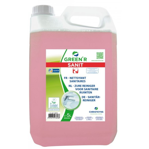 Nettoyant sanitaire GREEN'R 5L