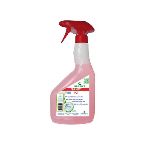Nettoyant sanitaires GREEN'R