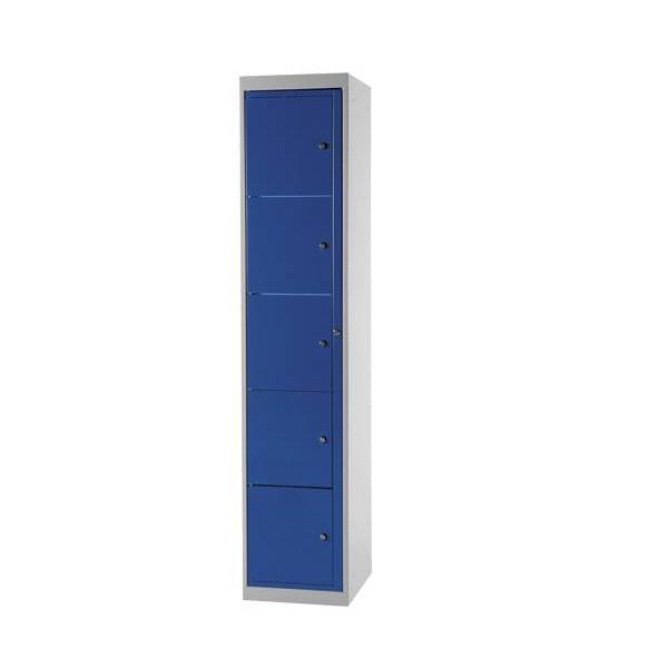 Armoire 5 cases avec clef
